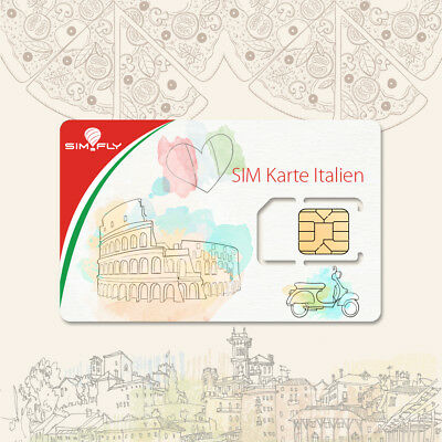 SIM Card Italy Prepaid Data SIM Card with 5 GB of Data for 30 Days