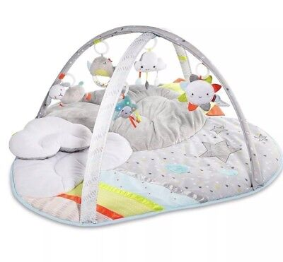 NEW Skip Hop Silver Lining Activity Gym Baby Development Toy Music