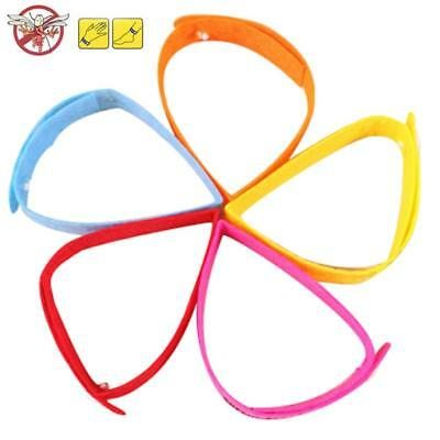 10 PCS Anti Mosquito Insect Pest Bugs Repellent Repeller Wrist Band Bracelet