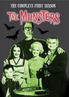 The Munsters The Complete First Season Fred Gwynne, Yvonne De Carlo New&Sealed