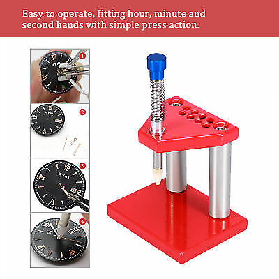 Watch Repair Tools Watchmaker Puller Plunger Remover Hand Presser Press Fitting