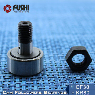 KR80 CF30 Cam Followers Bearing 30mm (1 PC ) Stud Track Rollers NAKD80 Bearings
