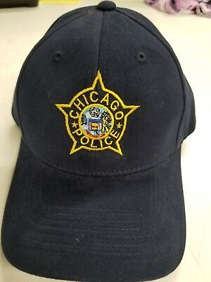 Chicago Police Embroidered Hat