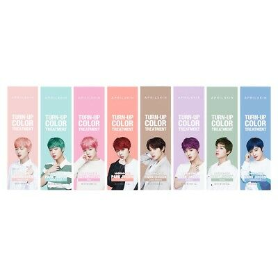 April Skin Turn Up Color Treatment Wanna One Park JiHoon Collaboration Choose 1