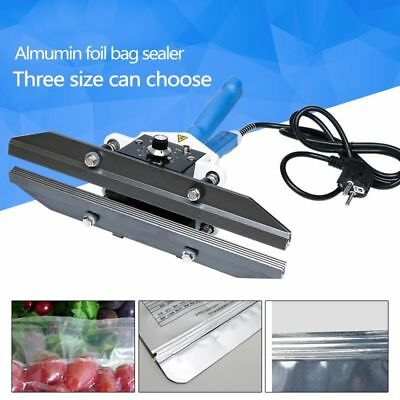 Portable Hand Clamp Sealing machine Direct-Heat Sealer 200mm 300mm 400mm 220V