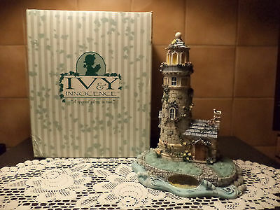 Ivy & Innocence Lighthouse At Ivy Cove-NEW IN BOX