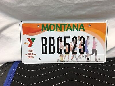 "Montana Plate  ""the 'y'/ Ymca""  Never Used  Bbc523"
