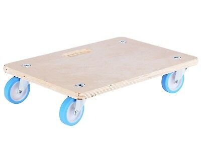 Move It RECTANGULAR SOFT WHEEL DOLLY 450x300mm 220kg Load Capacity, Indoor Use