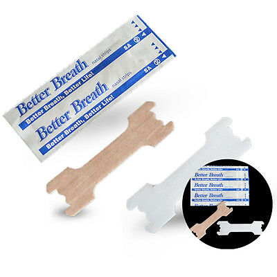 Am_ 50X Breathe Right Better Nasal Strips Adult Stop Snoring Health Care Strip N