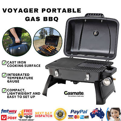 Gasmate Portable Gas BBQ Grill LPG Outdoor Camping Barbecue Cooking Plate Picnic