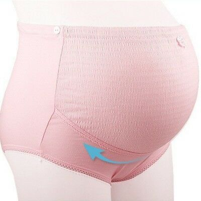 Pregnant Women Knicker Maternity Underwear Tummy Over Bump Support Panties US
