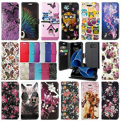 For Samsung Galaxy J3 J5 J7 2015 & 2016 Edition Version Leather Phone Case Cover