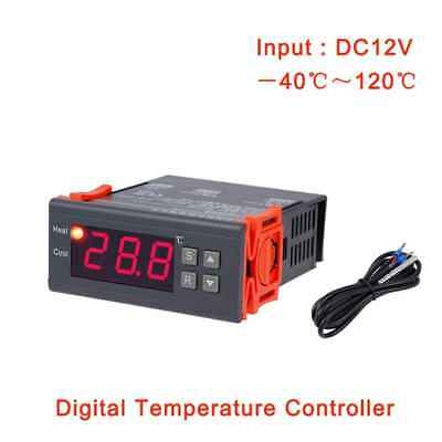 MH1210A DC 12V Thermostat Regulator Digital LCD Refrigerator Controller Sensor