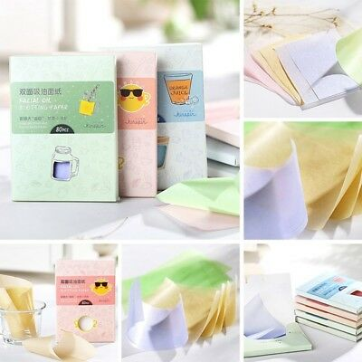 160 Pcs Facial Oil Control Absorption Absorbing Tissue Blotting Papers