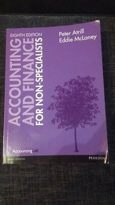 Accounting and Finance for Non-Specialist 8th Edition