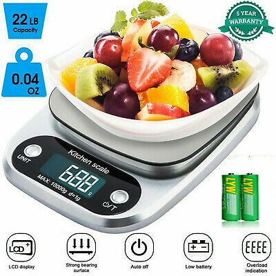 5kg Kitchen Scales Food Baking Weight Digital LCD Electronic Weighing Scale