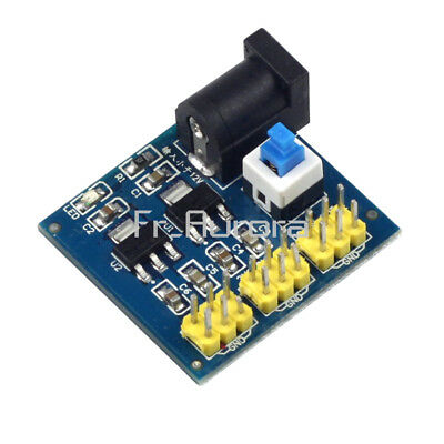 1/2/5PCS DC-DC 12V To 3.3V 5V Buck Step-down Power Supply Module For Arduino