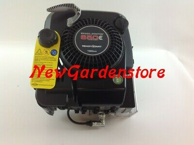 ENGINE lawn mower BRIGGS & STRATTON 650 COMPLETE READY START 190 cc 6 HP 22 x 60