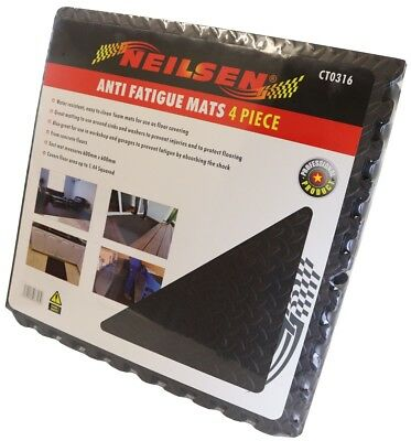 Anti Fatigue Mats 4 Pieces Foam Water Resistant Neilsen
