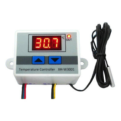AM_ EG_ XH-W3001 Digital LED Control Temperature Microcomputer Thermostat Switch