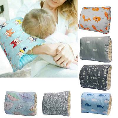 AM_ Breast Feeding Maternity Soft Nursing Arm Pillow Baby Support Lunchbreak Eye
