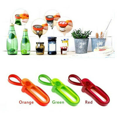 AM/_ Easy Grip Container Bottle Jar Lid Can Opener Adjustable Strap Multi Size He