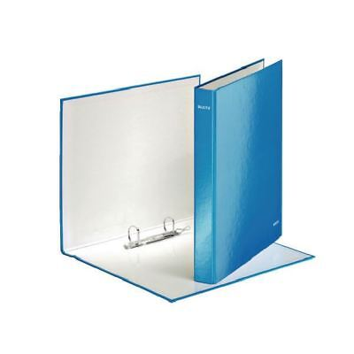 Leitz Wow A4+ 25mm Blue 2 D-Ring Binder (Pack of 10) [LZ32872]