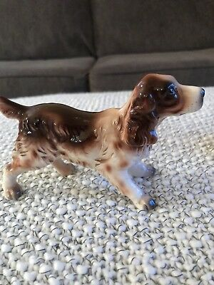 Japan Red English Springer Spaniel Figurine