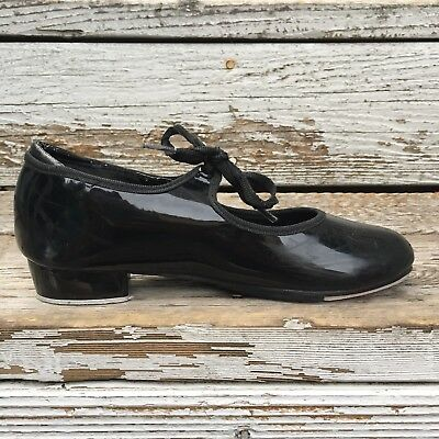 black tap dance shoes girls size 1 | theatricals