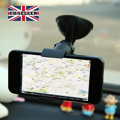 Universal 360° in Car Windscreen Dashboard Holder Mount For Mobile Phone GPS >UK