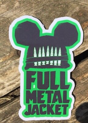 Full Metal Jacket Sticker, Vietnam, Stickers, Fan Art.COMBINE P&P ALL STICKERS