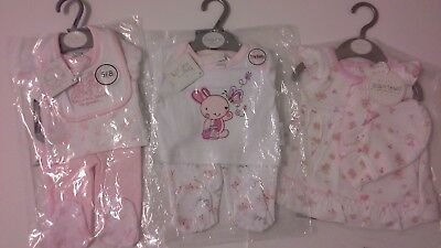 tiny baby girls clothes bundle premature preemie  5-8 lbs BNWT