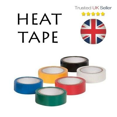 3M Electrictions Insulation PVC Tape Rolls Electrical Wire - Assorted Colours UK