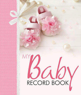 My Baby Girl Record Book Keepsake Journal Photo Album Birth To Seven Years