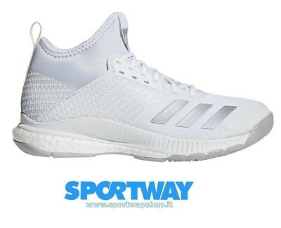 hot sales 19fb8 93540 Scarpa Volley Adidas Crazyflight X 2 Mid Solo Tg 42 23 Offerta