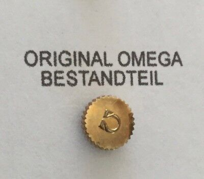 Omega Krone Double 4,90 mm Lagerware - gilded crown N.O.S.