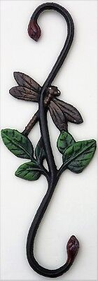 Dragonfly Cast Iron S Hook Plant Hanger