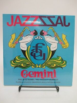 "Sealed LP ""GEMINI"" FAU Jazz Band /Faculty Quartet of Florida Atlantic University"