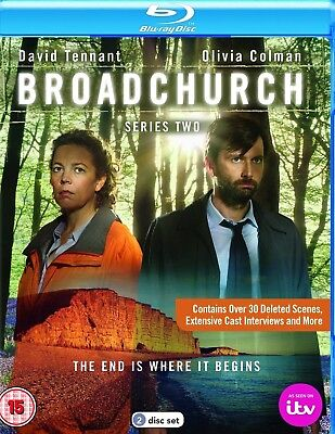 BROADCHURCH Series Two Blu-ray DVD Region 12