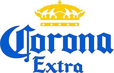 Corona Beer Sign Wall Bar Man cave Sticker Decal
