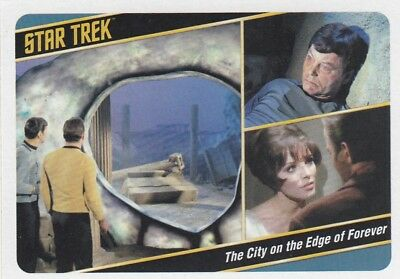 Star Trek Tos The Captain's Collection - Parallel Base Card 29
