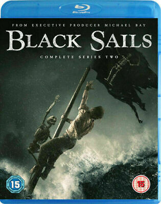 Black Sails - Complete Series Two [Blu-ray] New and Factory Sealed!! (Region B)