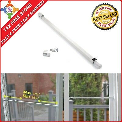Sliding Glass Patio Door Security Bar With Anti Lift Lock Stop Home