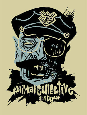 Animal Collective Concert Gig Poster 2013 - New