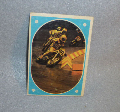Kenny Roberts AMA Motorcycle Road Racing Card Sticker 1972 Yamaha #80 Modesto CA