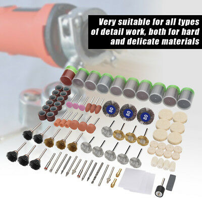 350pc Rotary Accessory Bits Set For Dremel Fits Grinding Sanding Polishing