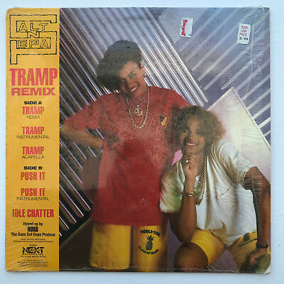 "Salt 'N' Pepa Push It / Tramp Vinyl Record Original 1987 12"" Hip Hop Excellent"
