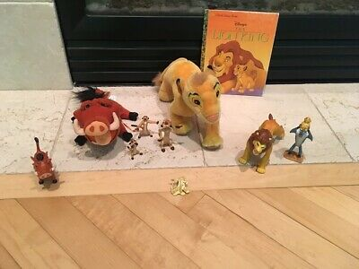 Disney The Lion King Figures Plush Toys and Action Figures Lot