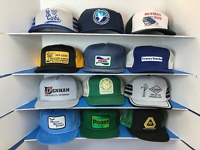 Lot #11 Vintage Trucker Farmer Baseball Hats > Lot of 12 < See Photos and Read