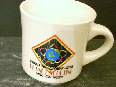 Bsa 1994 Jamboree Middle Tennessee Council Planet Scouting Coffee Cup(3D)